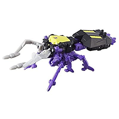 Transformers: Generations Power of the Primes Legends Class Skrapnel: Toys & Games