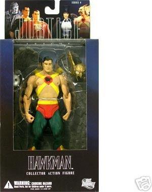 Alex Ross Justice League Series 4: Hawkman Action Figure