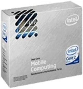 Intel Processeur 1 x Intel Core 2 Duo T9600 mobile 2.8 GHz 1066 MHz Socket P Micro FCPGA 478 broches L2 6 Mo Box