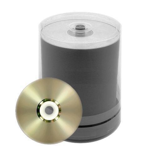 100 JVC Taiyo Yuden 8X DVD-R 4.7GB Silver Inkjet Printable by JVC