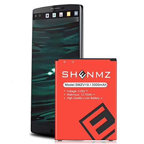 LG Stylo 2 Plus Battery,SHENMZ 3300mAh Replacement Battery for for LG Stylo 2 Plus K550 LS775 LTE MS550 [24 Month Warranty]