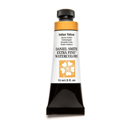 DANIEL SMITH Extra Fine Watercolor 15ml Paint Tube, Indian Yellow