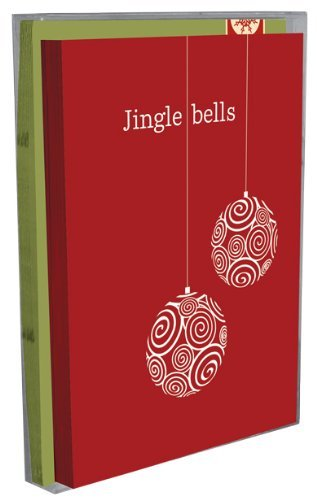 amazon tree free greetings jingle bells holiday boxed cards 5 x 7