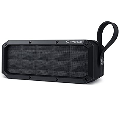 HyperGear Beast XL Portable IPX6-Waterproof/Dustproof, Outdoor/Indoor Wireless Bluetooth Speakers V4.0 with Built-In Microphone, 30W Output Enhanced Bass Stereo Sound for All Bluetooth Devices from HyperGear