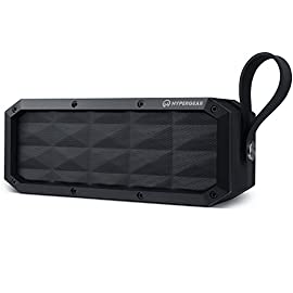 HyperGear Beast XL Rugged Portable IPX6 Waterproof Water Resistant Dustproof Outdoor Indoor Wireless Bluetooth Speakers with Built-in Microphone, Best Loud 30W Bass Stereo Sound for iPhone, Computer 134 ✔️ Made for Adventure With its rugged design, heavy-duty build, and IPX6 certification waterproof, the Beast XL is the perfect travel-friendly sound system. It can withstand splashes, pressurized jets & waves of water. (Product Should Not Be Submerged) ✔️ Double-Duty Speakerphone The integrated Wireless Bluetooth noise-cancelling microphone and touch-friendly controls let you quickly take and make calls with the push of a button. ✔️ Rugged Perfect for Active Lifestyles & Outdoor Enthusiasts Travel light and leave the charger at home. The 6600mAh battery provides up to 16 hours of wireless playtime on a single charge!