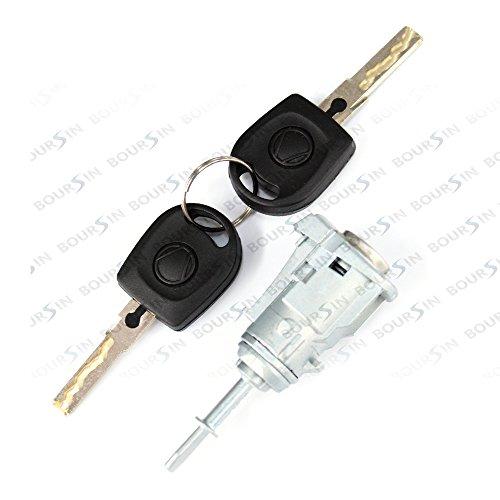 Door Lock Cylinder Assy for VW Golf 4 Bora MK4 Front Left & Right Side 4/5 Doors
