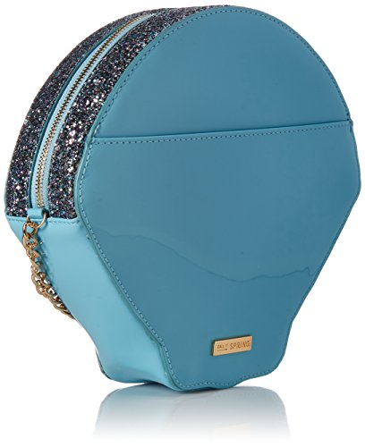 Call Handbag Zalloni It Body Cross Blue Light Spring qrwrZUX