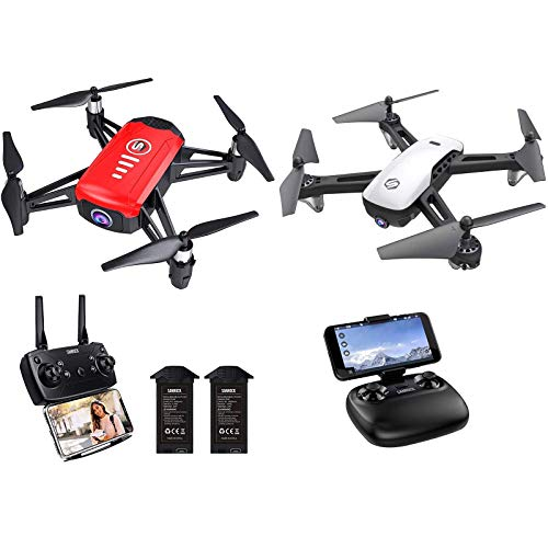 SANROCK H818 Drones for Kids + SANROCK U52 Big Drone with Camera for Kids and Adults, Great Christmas Gift Drone Toys…