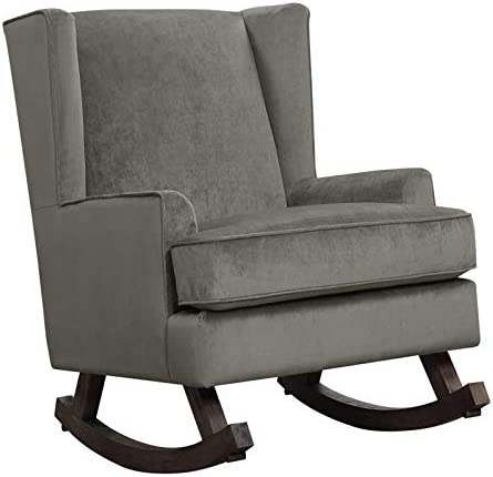 BOWERY HILL Fabric Upholstered Glide/Rocker Chair