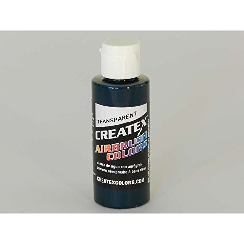 Createx Airbrush Paint, Transparent Forest Green, 2 oz (Green Airbrush Paint)