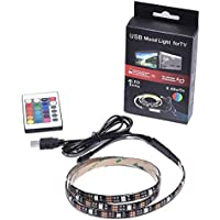 1M LED Strips Backlight RGB Mood Lights with Remote Control for HDTV