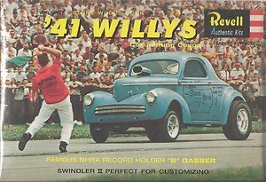 #Revell 1287 '41 Willys Competition Coupe 1/25 Scale Plastic model Kit, Needs -