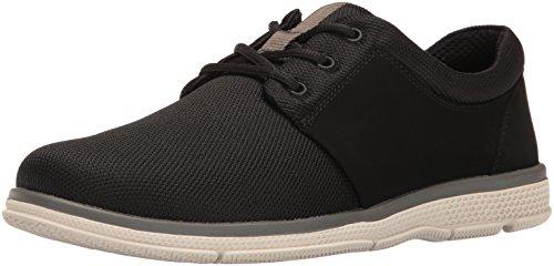 Nunn Bush Men's Zephyr Oxford, Black/Multi, 8.5 M (Mens Black Casual Shoes)