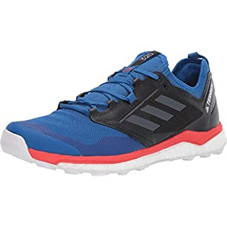 adidas Men's BC0420 Terrex Agravic XT Trail Running Shoe, Blue Beauty/Grey Five/Active Red On Running Shoes Review