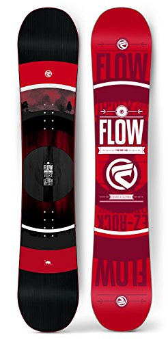 Flow 2018 Men's Vert (Wide) Snowboard (158 WIDE) Rocker Wide Snowboard