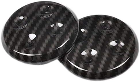 Alician Carbon Fiber Style ABS Seat Adjustment Switch Button Trim Strip for GLC//CLS//E//C W205 W212 W213 Auto Accessories