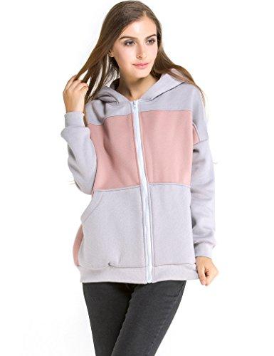 Zippered Womens Sweatshirt - 5