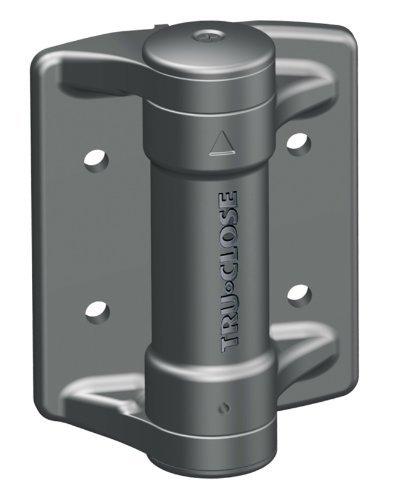 Tru-Close Heavy Duty Tchd1Al2 Self Closing Gate Hinges, Size 35/35mm by Tru-Close