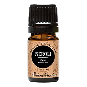 Neroli Essential Oil (100% Pure, Undiluted Therapeutic/Best Grade) Premium Aromatherapy Oils by Edens Garden- 5 ml