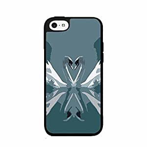 Kissing Swans 2-Piece Dual Layer Phone Case Back Cover iphone 4 4s includes fashion case Cloth and Warranty Label