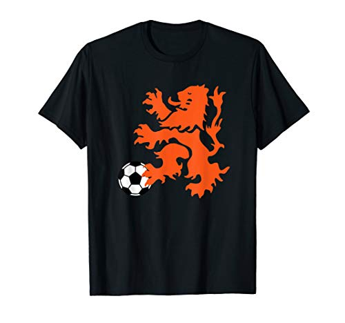 Netherlands Lion Rampant, Soccer Ball T-Shirt
