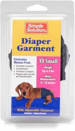 Simple Solution Washable Diapers, Double Extra Small