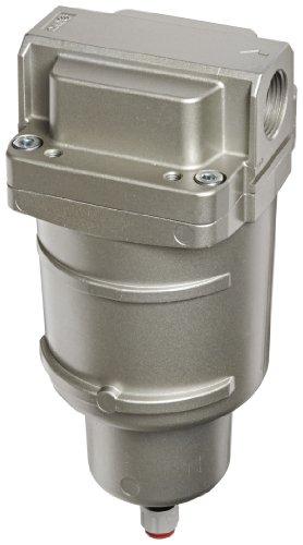 SMC AMG550C-N10C Water Separator, N.C. Auto Drain, 3,700 L/min, 1'' NPT by SMC Corporation