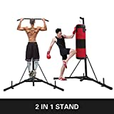 Happybuy Foldable Boxing Heavy Bag Stand Height