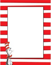 Paper Magic 812110 Eureka Dr. Seuss The Cat in The Hat Computer Paper, Package of 50 Sheets