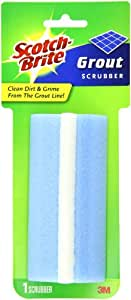 Scotch-Brite Grout Scrubber  544, 1-Count (Pack of 8)