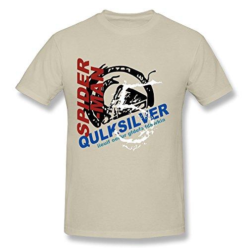 SNOWANG Men's Spider-man Design T-shirt L