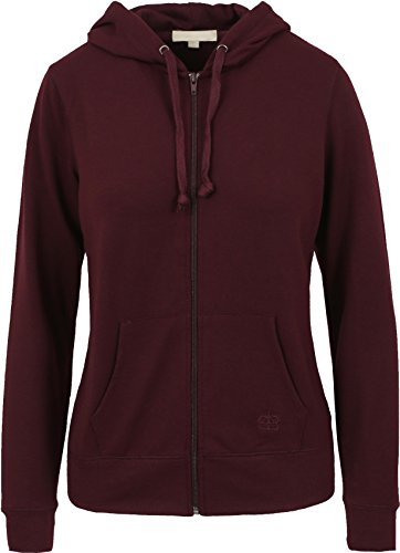 EC Womens Zip Up Hoodie Slim Fleece Zipper Sweater Drawstring Long Sleeve Pocket Cotton Hoodie Pullover (Medium, (Drawstring Womens Sweater)