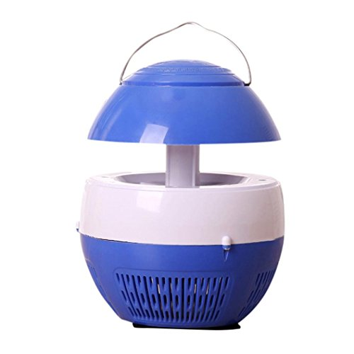 VIASA Electric Fly Bug Zapper Mosquito Insect Killer LED Light Trap Lamp Pest Control (Crazy Halloween Pumpkin Stencils)