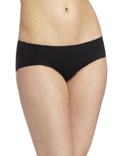 Hipster Comfort (Maidenform Womens Comfort Devotion Hipster Panty, Black/Body Beige, 6)