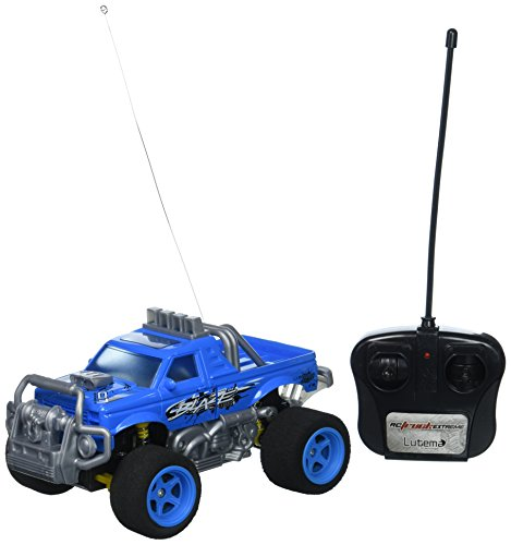 Lutema Blaze Truck 4CH Remote Control Truck, - Blue Truck Rc
