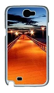 Samsung Galaxy Note II N7100 Case,Pier 1 PC Hard Plastic Case for Samsung Galaxy Note II N7100 Whtie