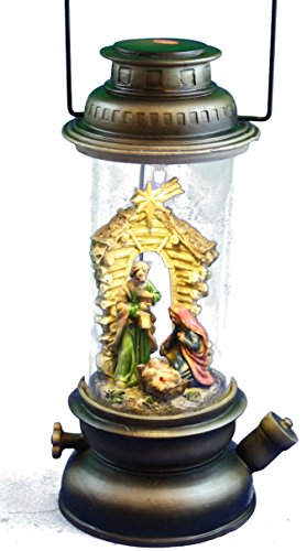TII Collections Resin Nativity Light Up Figure - Rustic by TII Collections (Image #2)