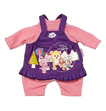 d46a6e4f62ce1a Zapf Creation 821282 - My Little Baby Born Kleidung Easy Fit, Kleid ...