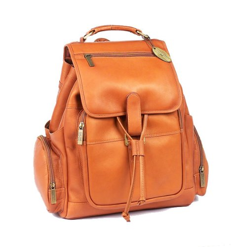 Claire Chase Uptown Back Pak 332E Color Saddle