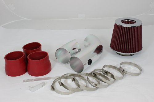 96 97 98 99 Chevy C/k 1500/2500/3500 All Model with 5.0l/5.7l V8 Short Ram Intake Red (Included Air Filter) #Sr-ch006r by High performance parts