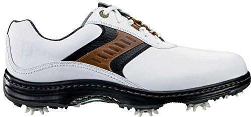 FootJoy 2016 Men's Contour Plain Toe Saddle Golf Shoes, P...