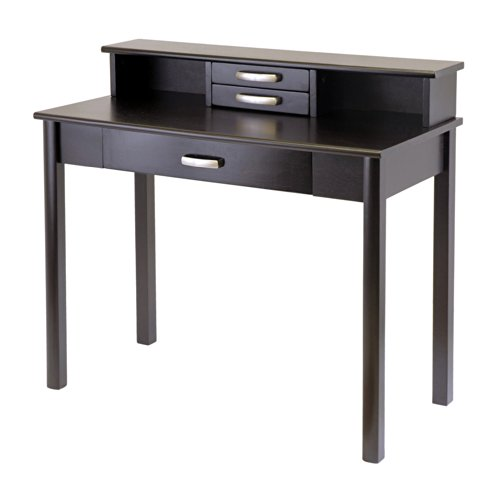 c Home Office Set, Writing Desk with Hutch (Winsome Office Writing Desk)