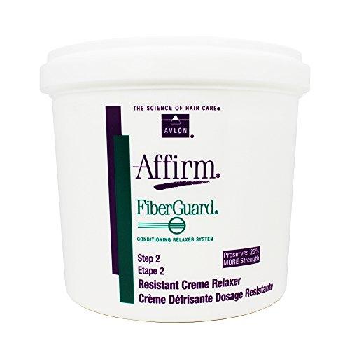 Avlon Affirm Fiber Guard Creme Relaxer Resistant 64 Ounce