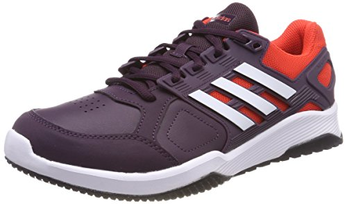 adidas Herren Duramo 8 Trainer Gymnastikschuhe Rot (Noble Red S18/ftwr White/hi-res Red S18 Noble Red S18/ftwr White/hi-res Red S18)