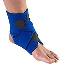 OTC Ankle Wrap, Criss-Cross Compression Support, Neoprene