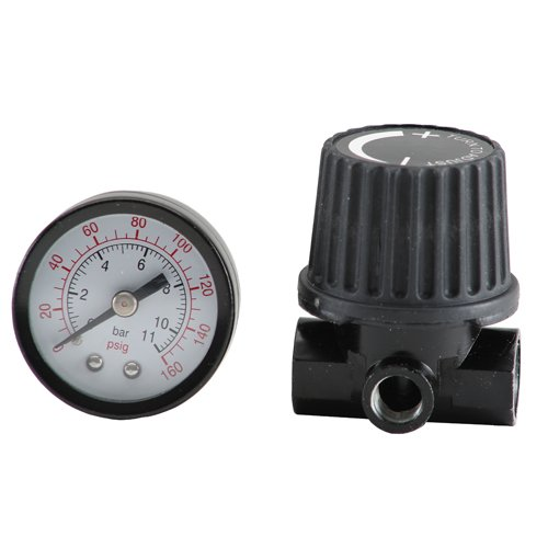 Bostitch BTFP72326 Regulator and Gauge Kit with 1/4-Inch NPT Thread ()