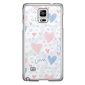 Loud Universe Samsung Galaxy Note 4 Love Valentine A Valentine 151 Transparent Edge Case - Yellow