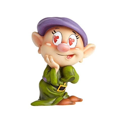 """The World of Miss Mindy Dopey from """"Snow White and the Seven Dwarfs"""" Stone Resin Figurine"""