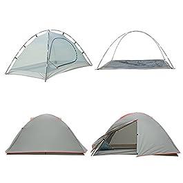 Campingzelt für Zwei Personen mit einer Wassersäule von 2000mm