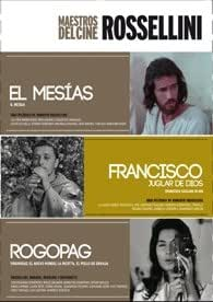 Pack Maestros Del Cine : Rossellini (El Mesias) (1976) / Francisco Juglar De Dios (Francesco giullare di Dio) (1950) / Rogopag (1963)) 3 Dvds (Import)